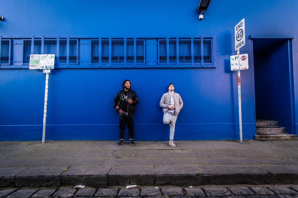 ARB - blue wall