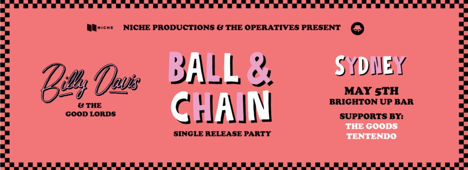 BILLYDAVIS-BALL&CHAIN-coverphoto